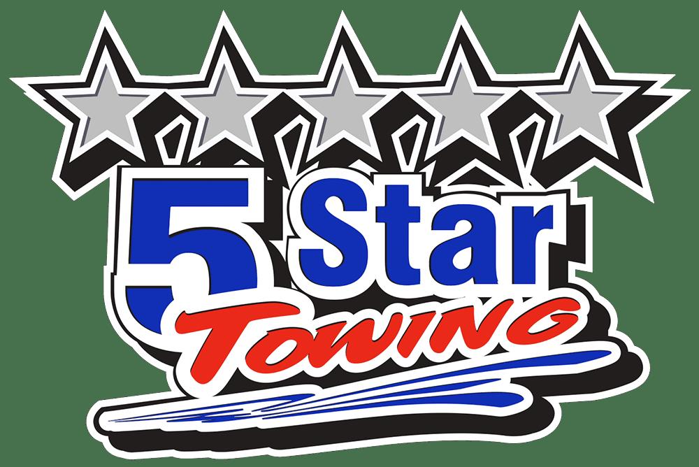 5 Star Towing Logo